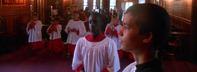 chapel-service-lake-delaware-boys-camp