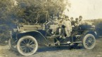LDBC early 1900s', LDBC boys' in car.