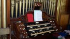 The organ that Teddy's cousin built.